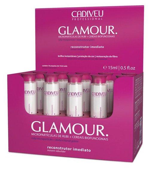 Cadiveu Восстанавливающие ампулы Glamour