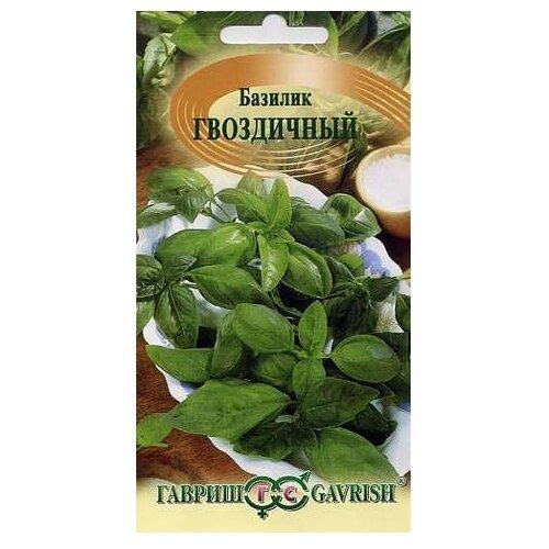 Фото - Семена Гавриш Базилик Гвоздичный 0,3 г, 10 уп. семена гавриш базилик зеленый