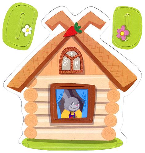 мусорных домик с зайчиком картинка нужна