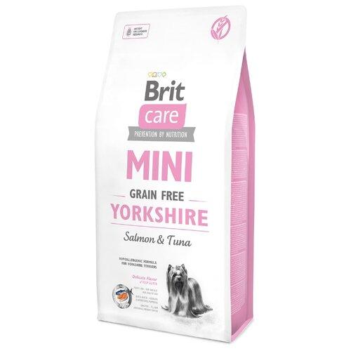 Корм для собак Brit (7 кг) Care Mini Grain Free YorkshireКорма для собак<br>
