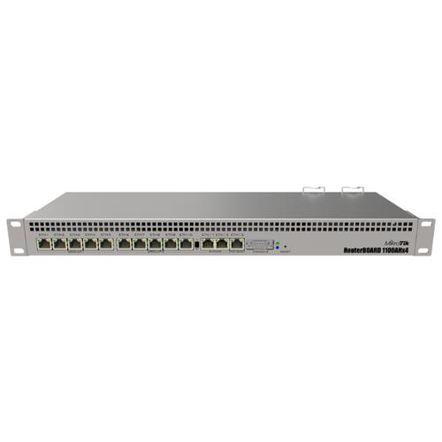 Маршрутизатор MikroTik RB1100AHx4 маршрутизатор mikrotik ccr1036 8g 2s 8x10 100 1000mbps 2xsfp 1xmicrousb