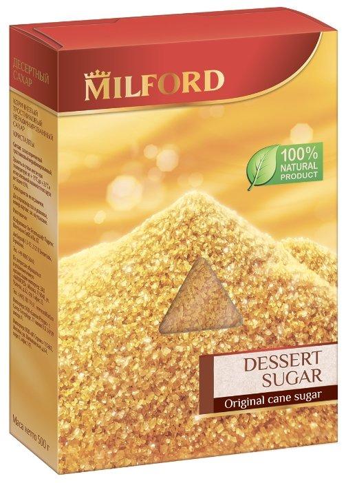 Сахар тростниковый Milford коричневый, 500 г