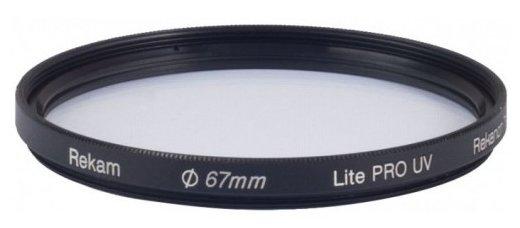 Светофильтр ультрафиолетовый Rekam Lite Pro UV 67 мм