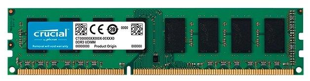 Оперативная память 8 ГБ 1 шт. Crucial CT102464BD160B — купить по выгодной цене на Яндекс.Маркете