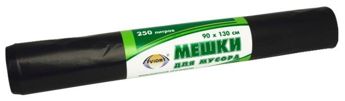 Мешки для мусора Aviora 106-064 250 л (10 шт.) черный