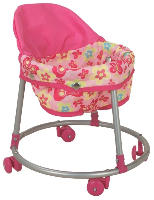 Ходунки Buggy Boom Loona 8779-6 розовый с бабочками