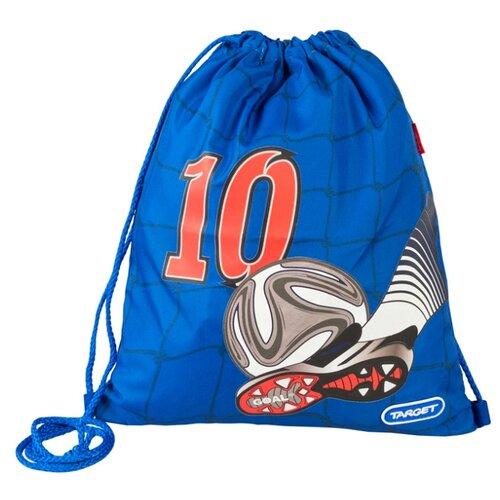Купить Target Сумка для детской сменной обуви Улетный футбол (17946) синий/красный, Мешки для обуви и формы