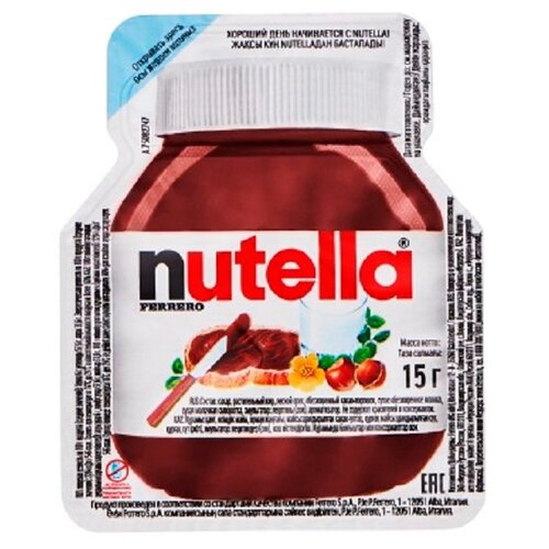 Nutella Паста ореховая с добавлением какао, 1800 гШоколадная и ореховая паста<br>