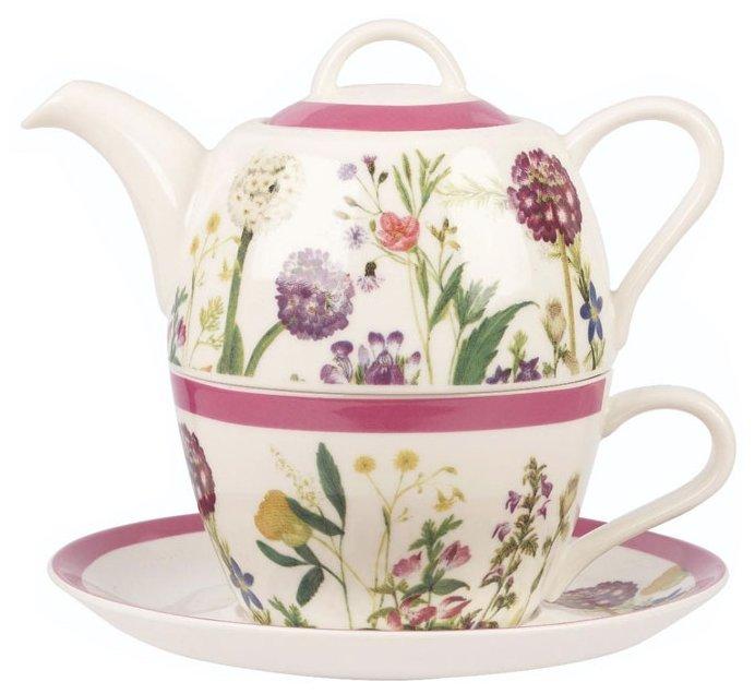 Чайный сервиз CHURCHILL Гималайские цветы HIMF00081, 1 персона