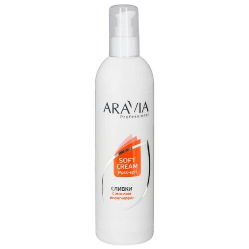 Aravia Сливки Professional для восстановления рН кожи с маслом иланг-иланг 300 мл сахарный скраб с маслом миндаля aravia professional 300 мл