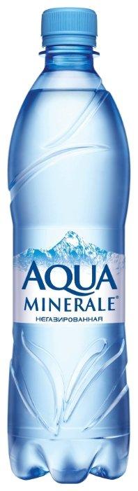 Вода питьевая Аква Минерале негазированная, ПЭТ