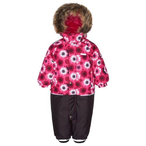 Купить Комбинезон KERRY FUN K18409 размер 80, 2610 малиновый/розовый/белый, Теплые комбинезоны