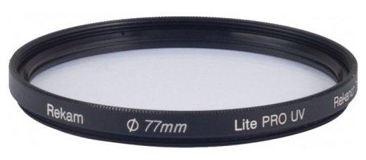 Светофильтр ультрафиолетовый Rekam Lite Pro UV 77 мм