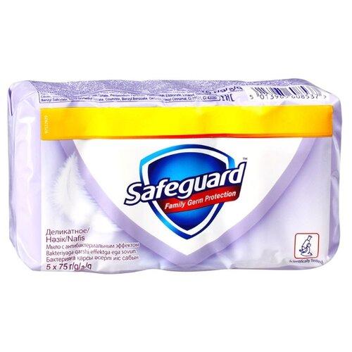 Антибактериальное кусковое мыло Safeguard Деликатное 375 гМыло<br>