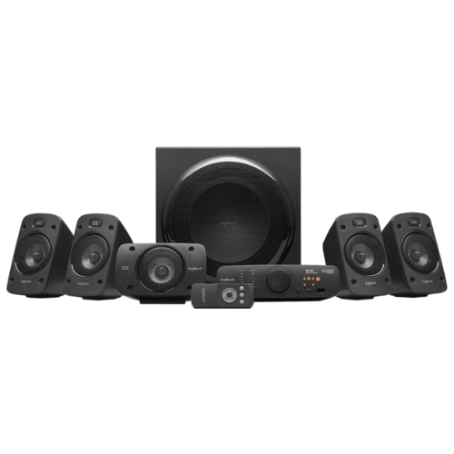 Компьютерная акустика Logitech Z906 черный logitech z906 5 1 980 000468