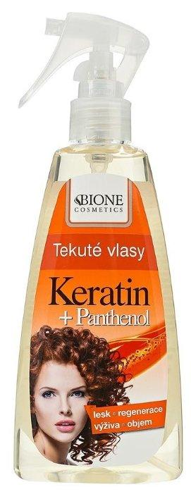 Bione Cosmetics Жидкий спрей для волос Пантенол + Кератин