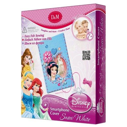 D&M Шьем из фетра Disney Princess чехол для телефона Белоснежка (53673)