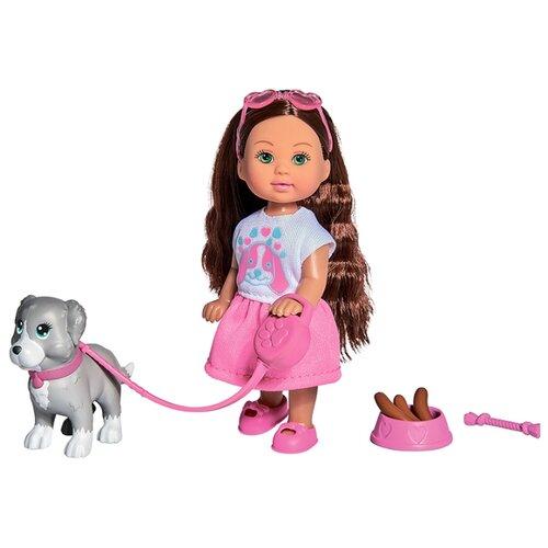 Купить Кукла Simba Holiday Еви с собачкой и аксессуарами, 12 см, 5733272029, Куклы и пупсы