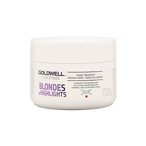 Купить Goldwell DUALSENSES BLONDES & HIGHLIGHTS Интенсивный уход за 60 секунд для осветленных волос, 200 мл