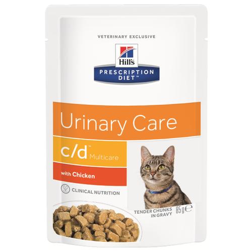 Корм для кошек Hills Prescription Diet C/D Multicare Feline with Chicken wet 1 шт. (0.085 кг)Корма для кошек<br>