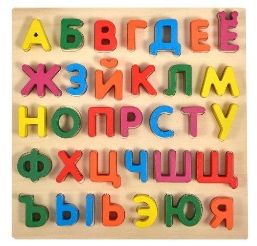 Рамка-вкладыш Mapacha Алфавит (76652), 33 дет.