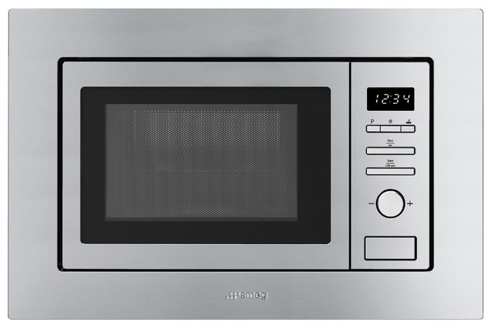 Микроволновая печь встраиваемая smeg FMI017X