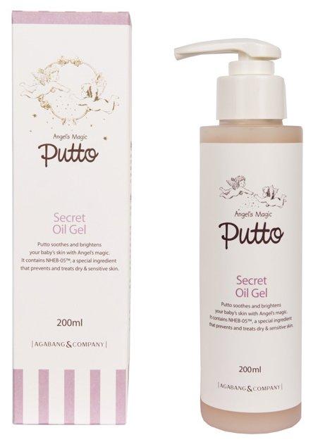 Putto Secret Масло-гель массажное для новорожденных