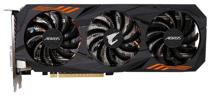 GIGABYTE Видеокарта GIGABYTE GeForce GTX 1060 1632MHz PCI-E 3.0 6144MB 8008MHz 192 bit DVI HDMI HDCP AORUS rev. 2.0