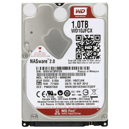 Жесткий диск Western Digital WD Red 1 TB (WD10JFCX)