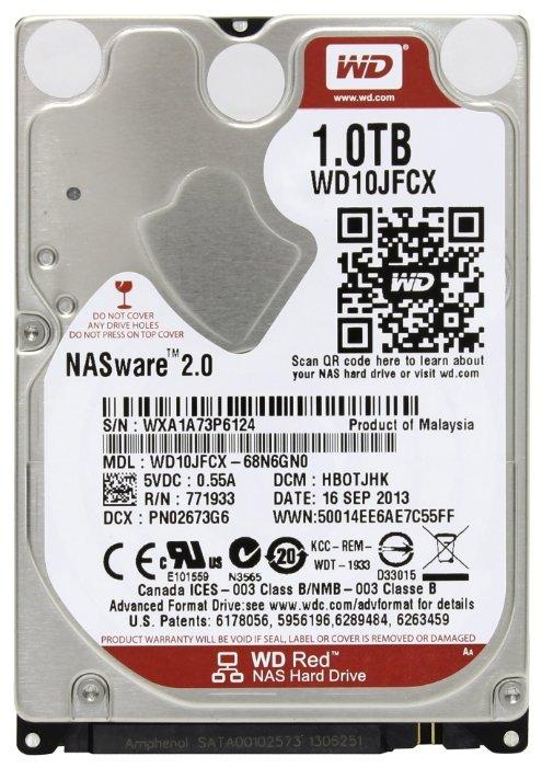 Жесткий диск Western Digital WD Red 1 TB (WD10JFCX)