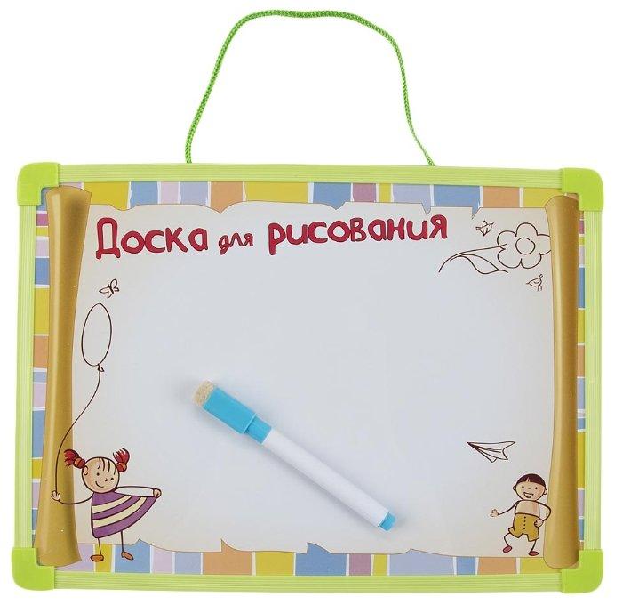 Доска для рисования детская Donkey Toys магнитная с магнитными наклейками (DT-R6114-C3)