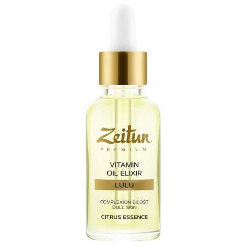 Zeitun Premium LULU Vitamin Oil Elixir Эликсир для лица, 30 мл zeitun преображающий масляный эликсир niqa для проблемной кожи лица с серебром 30 мл