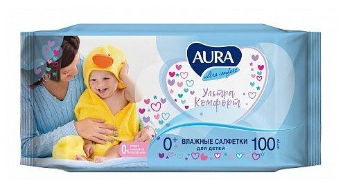 Влажные салфетки Aura Ultra Comfort