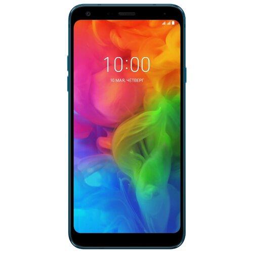 Купить Смартфон LG Q7 синий