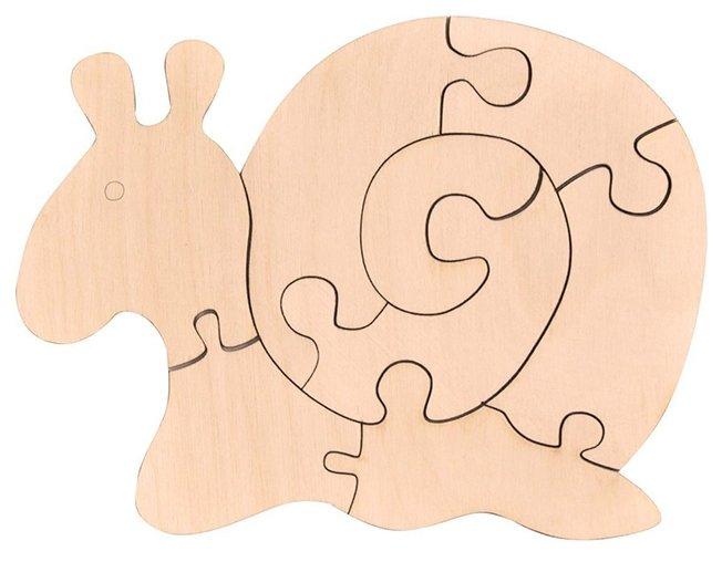 Пазл Мастер игрушек Улитка (IG0115) , элементов: 8 шт.