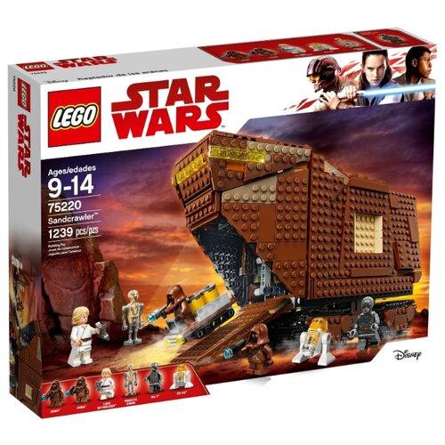 Конструктор LEGO Star Wars 75220 Песчаный краулер mantra 6136