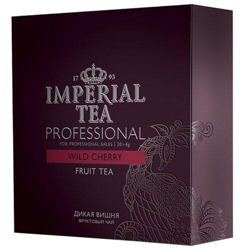 Чай фруктовый Императорский чай Professional Wild cherry в пакетиках для чайника , 20 шт. фото