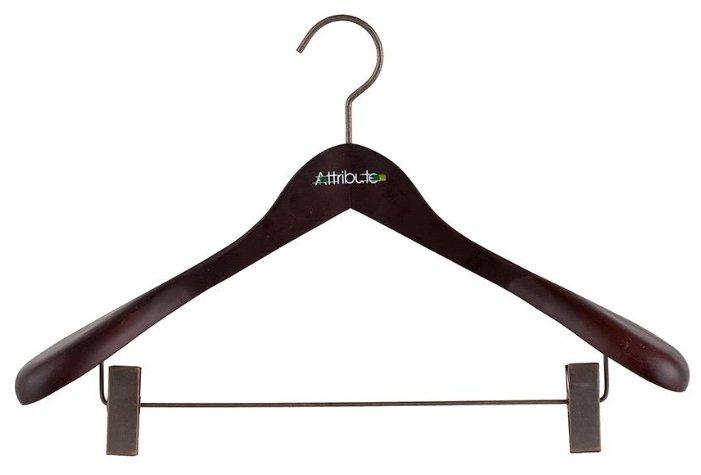 Вешалка Attribute Для верхней одежды с клипсами Prestige