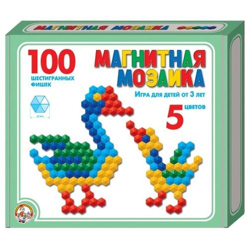 Десятое королевство Мозаика магнитная шестигранная 100 элементов (00961)