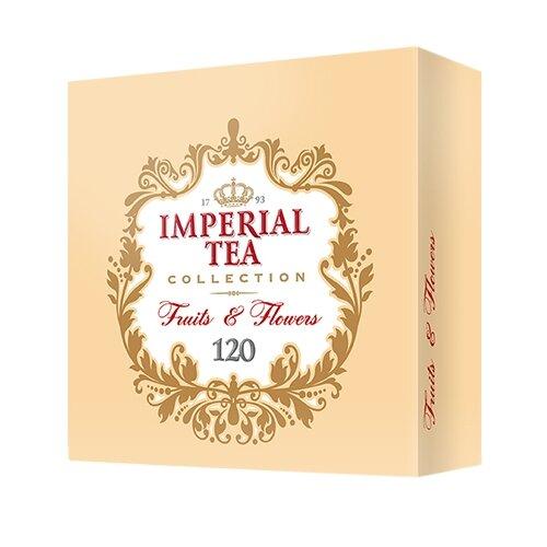 Чай Императорский чай Collection Fruits & Flowers ассорти в пакетиках, 120 шт. чай улун императорский чай collection china oolong 120 г
