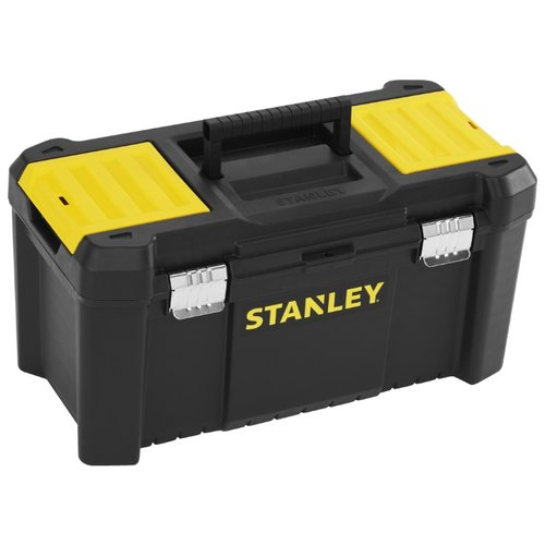 Ящик с органайзером STANLEY STST1-75521 Essential Toolbox Metal Latch 48.2x25.4x25 см 19'' черный
