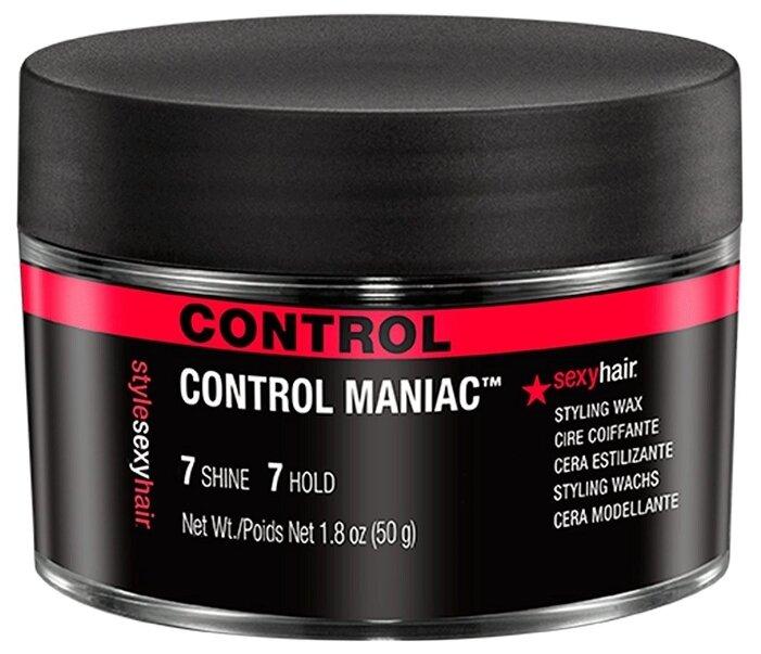 Sexy Hair Воск STYLE Control Maniac Styling Wax, сильная фиксация