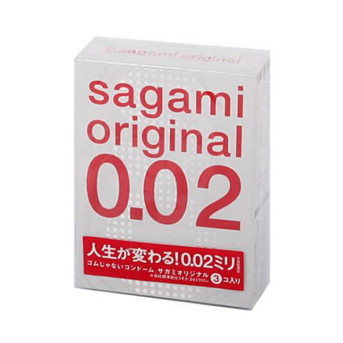 цена на Презервативы Sagami Original 0.02 (3 шт.)