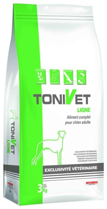 Корм для собак Bab'in (3 кг) Tonivet Ligne для собак крупных пород со склонностью к ожирению