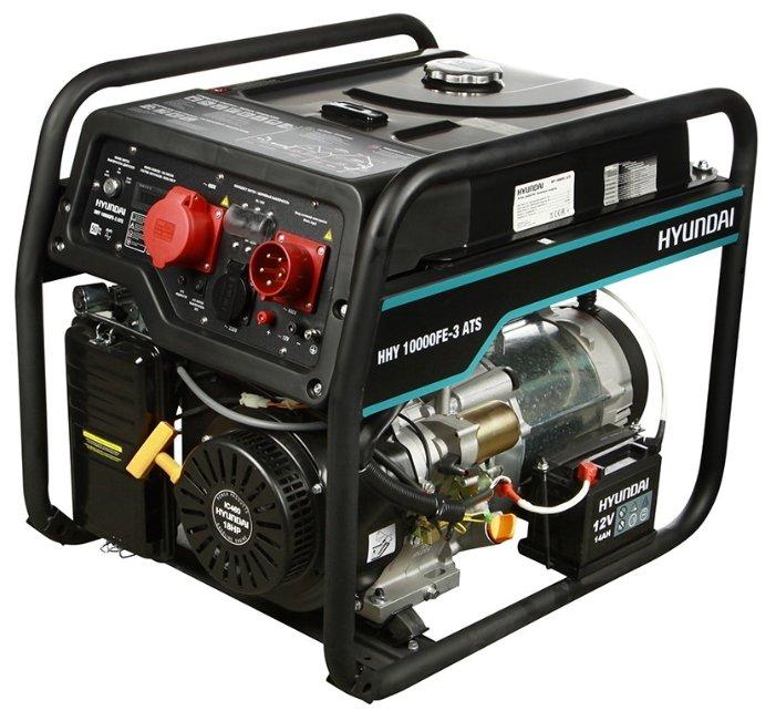 Бензиновый генератор Hyundai HHY 10000FE 3