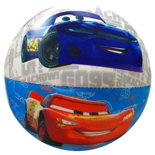 Мяч ЯиГрушка Тачки, 10 см, разноцветный