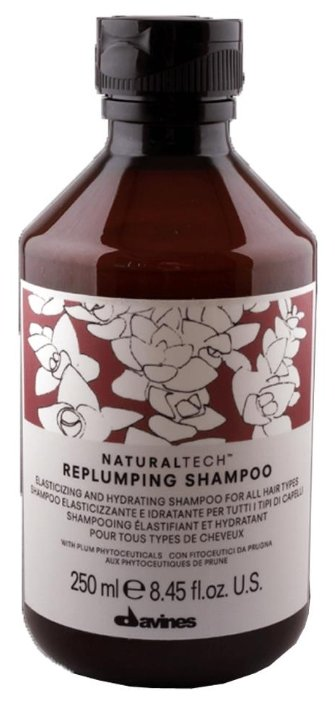 Davines шампунь Natural Tech Replumping