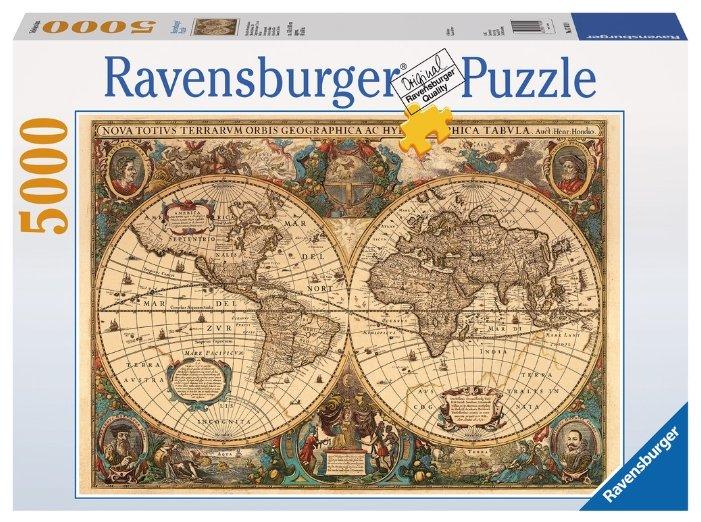 Пазл Ravensburger Историческая карта (17411), 5000 дет.