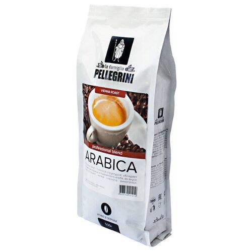 Кофе в зернах la famiglia Pellegrini ARABICA professional blend, арабика, 500 г кофе в зернах la famiglia pellegrini barista professional blend арабика робуста 1000 г
