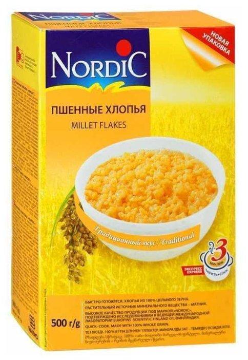 Nordic Хлопья пшенные, 500 г